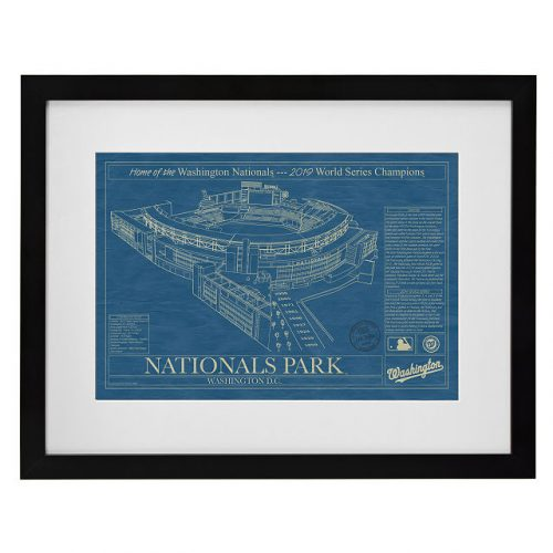 best baseball gifts - Baseball Stadium Blueprints
