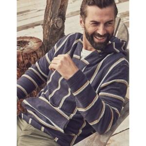 best hoodies for men - Faherty Knit Baja Poncho