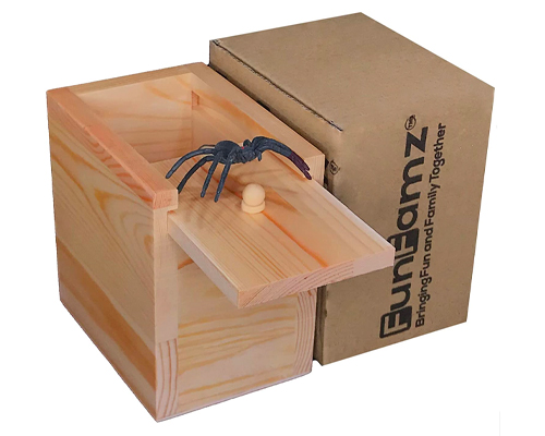 best gifts for dad - spider box prank