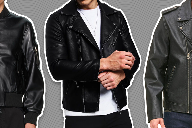 best vegan leather jackets for men