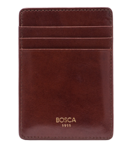 BOSCA Old Leather Front Pocket Wallet