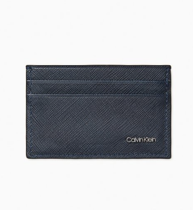 Calvin Klein Matte Saffiano Leather Card Case, best wallets for men