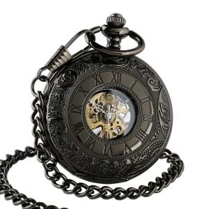 black half dial pocket watch, pocket watches, best pocket watches