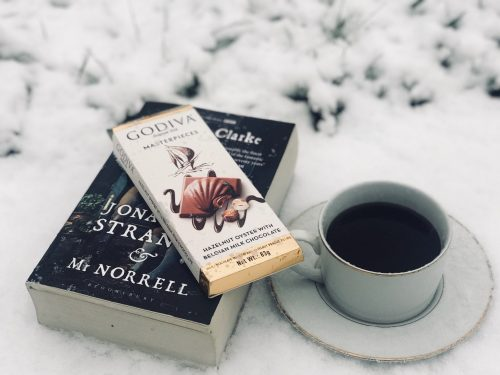 Book and Chocolate
