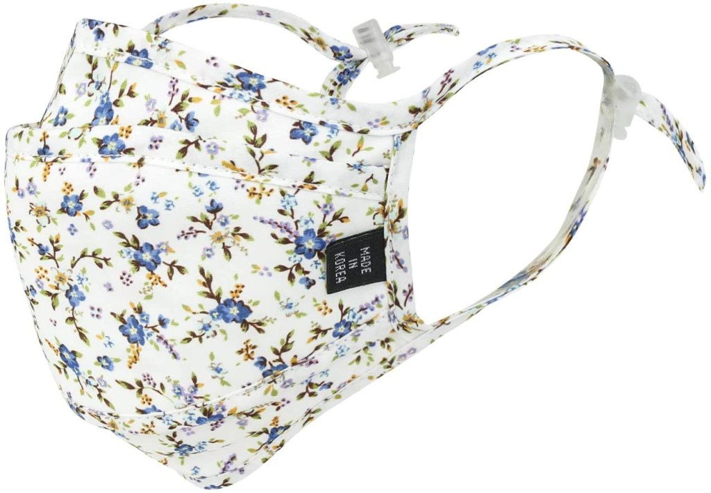 ililily Stylish Cloth Face Masks with fun floral patterns