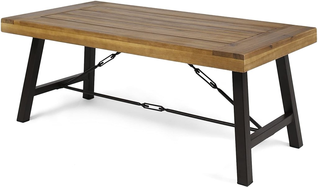 best outdoor coffee tables christopher knight