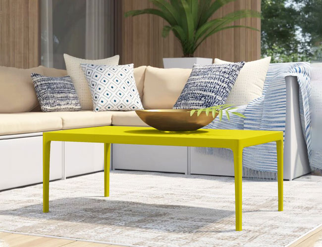 The 11 Best Outdoor Coffee Tables Of, Metal Patio Coffee Table