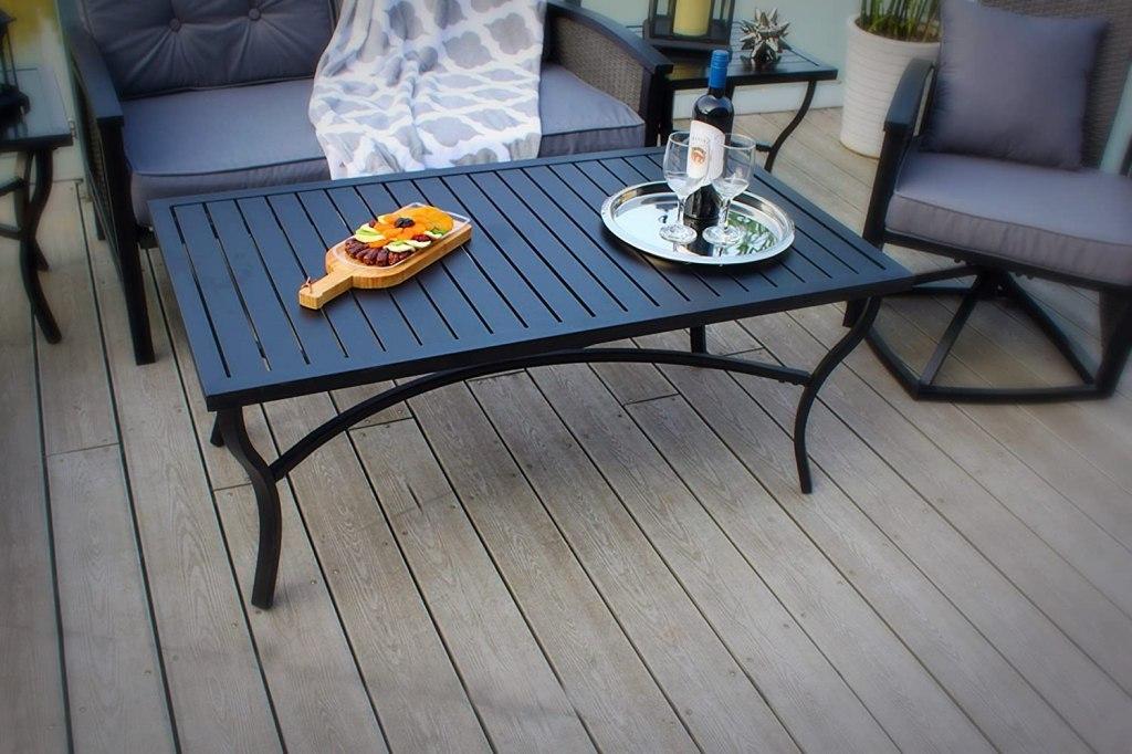 best outdoor coffee tables pebble lane