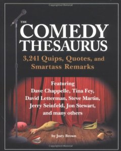 Comedy Thesaurus