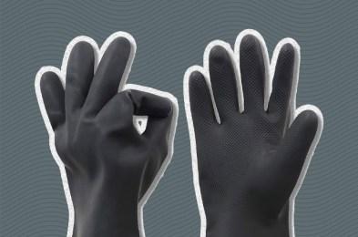coronavirus safety gloves