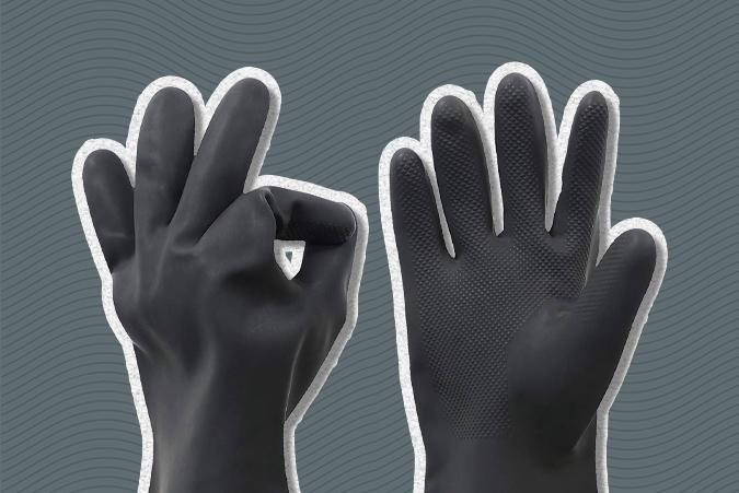 coronavirus latex gloves