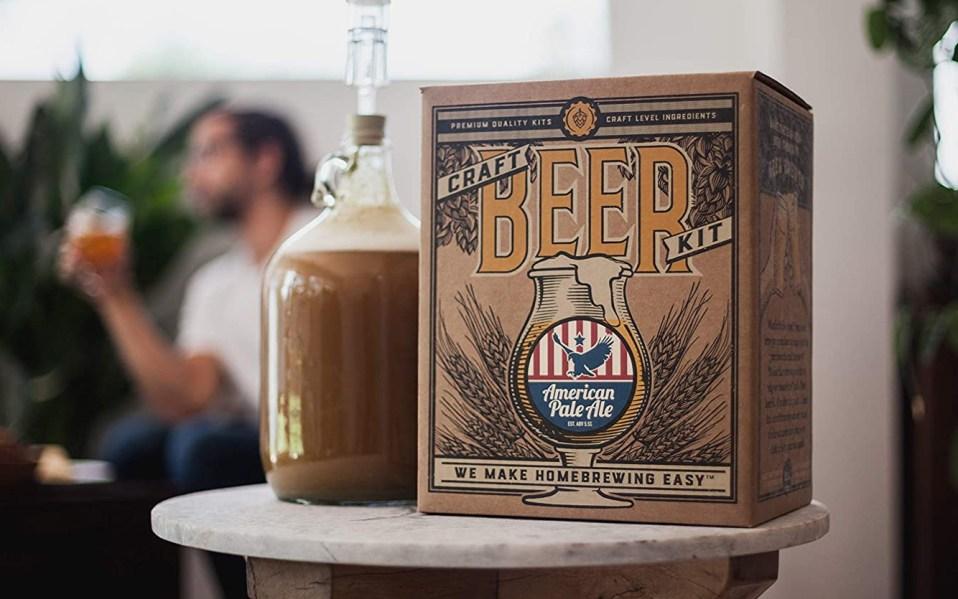 beer making kit, home beer brewing