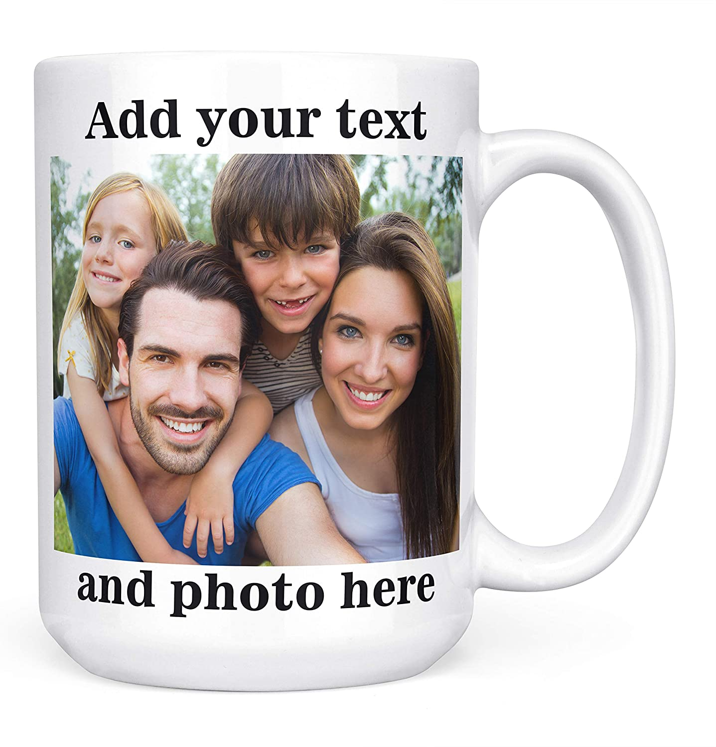 personalized gifts for dad custom photo mug