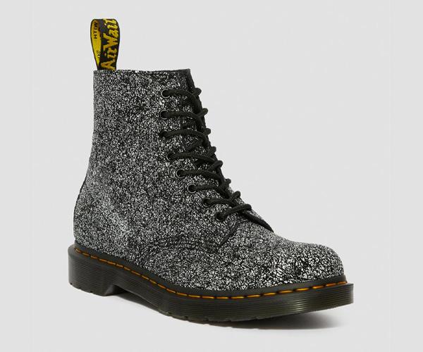 dr martens pascal splatter boots