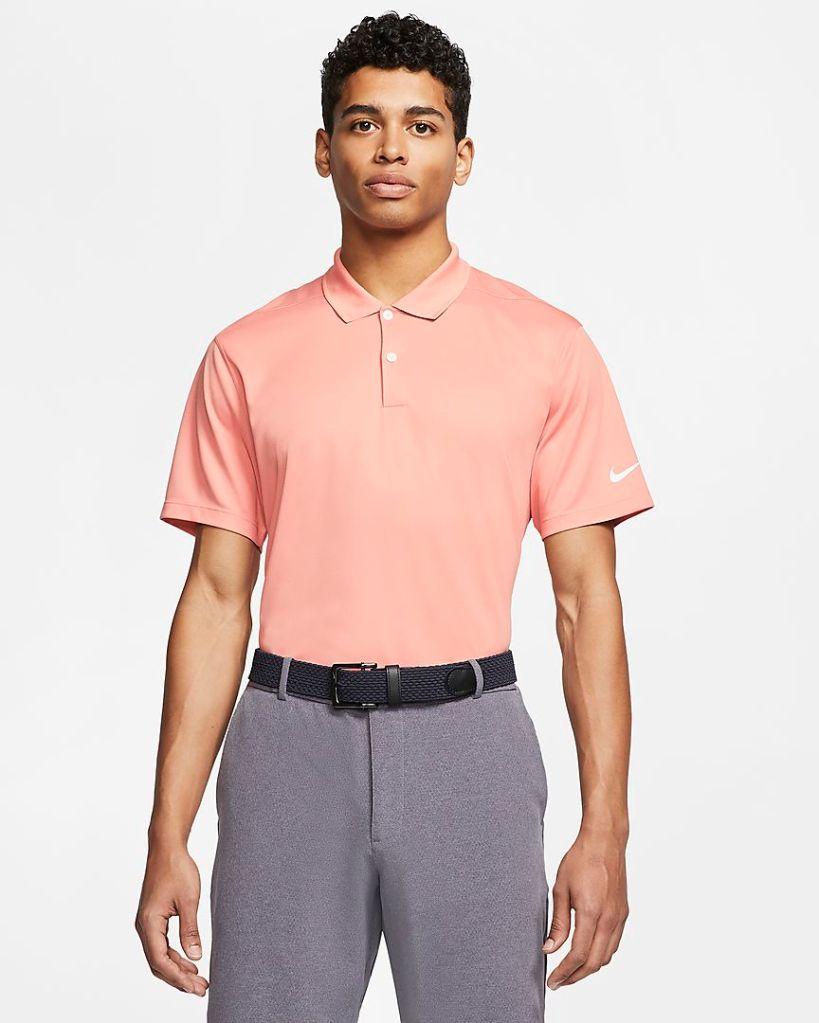 best men's golf shirts - nike dri-fit polo