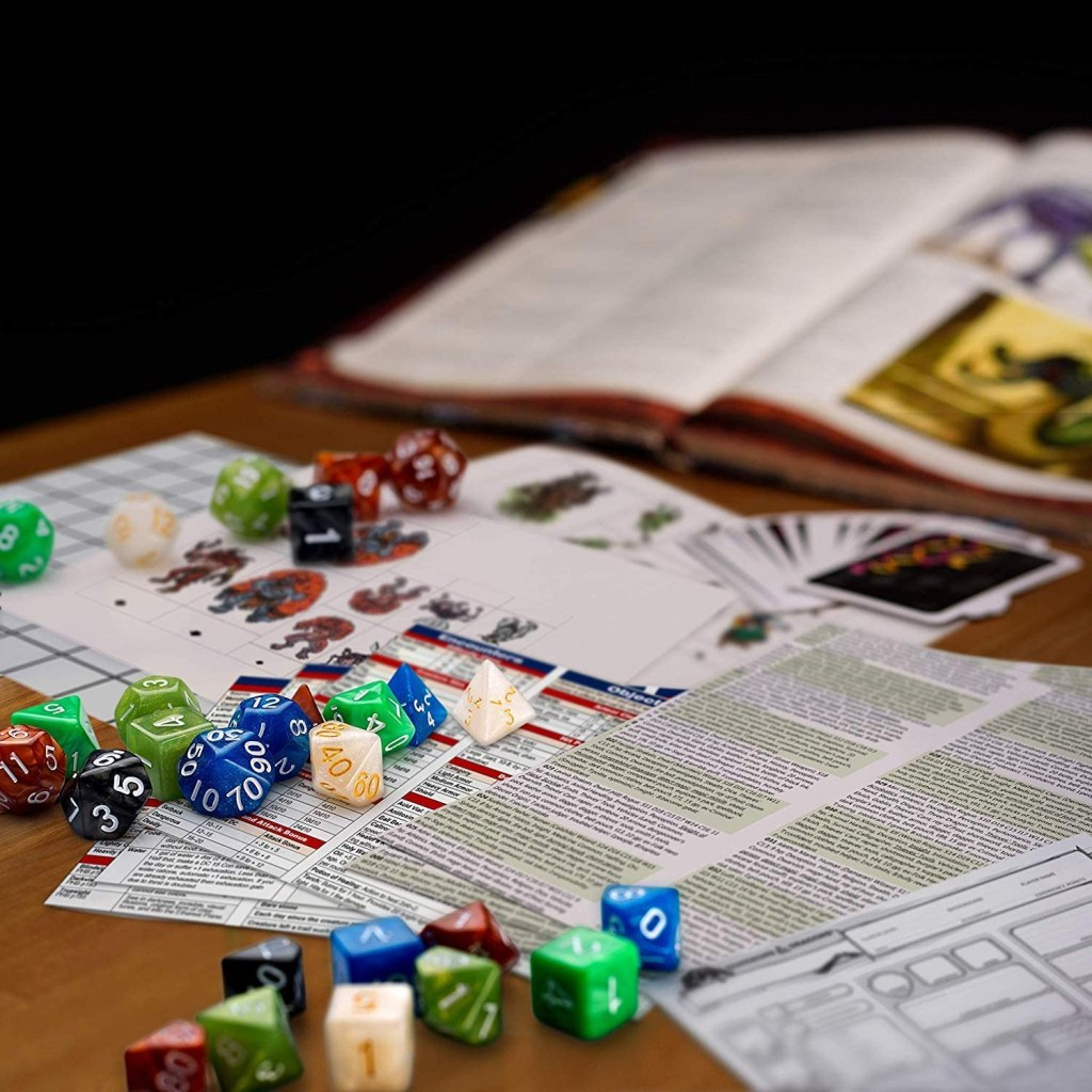 dungeons and dragons - best adult games 2020