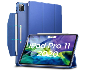 best ipad accessories - ESR Yippee Trifold Smart Case for iPad Pro (2020)