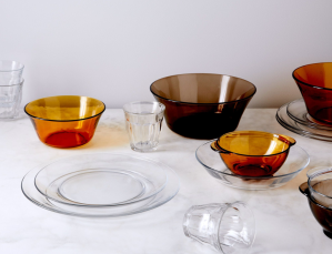 best dinnerware sets french glass