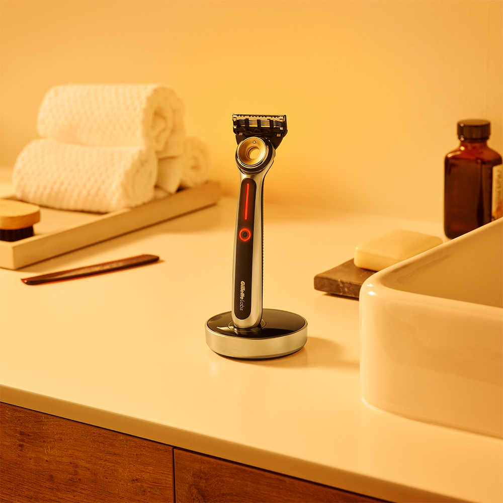 Heated Razor by GilletteLabs, best gift for dad