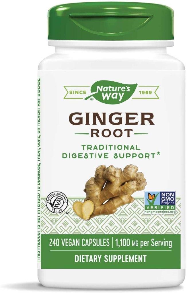 health benefits of ginger supplement
