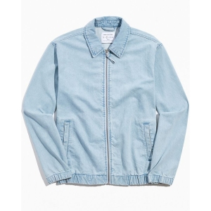 Urban Outfitters Denim Harrington Jacket