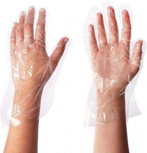 Green Direct Disposable Plastic Coronavirus Gloves