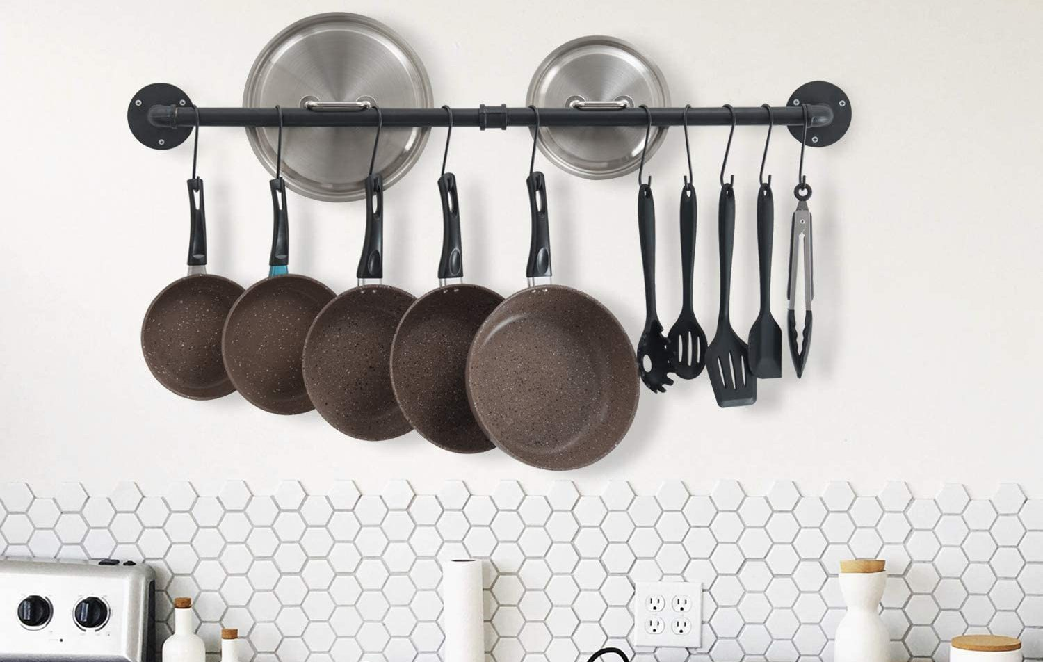Picture of: The Best Pots And Pan Hangers To Organize Your Kitchen In 2020 Spy