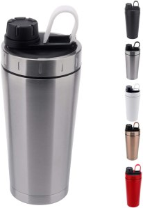 Hydro Flair Stainless Steel Protein Shaker Bottle