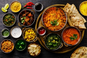 indian food, healthy takeout options