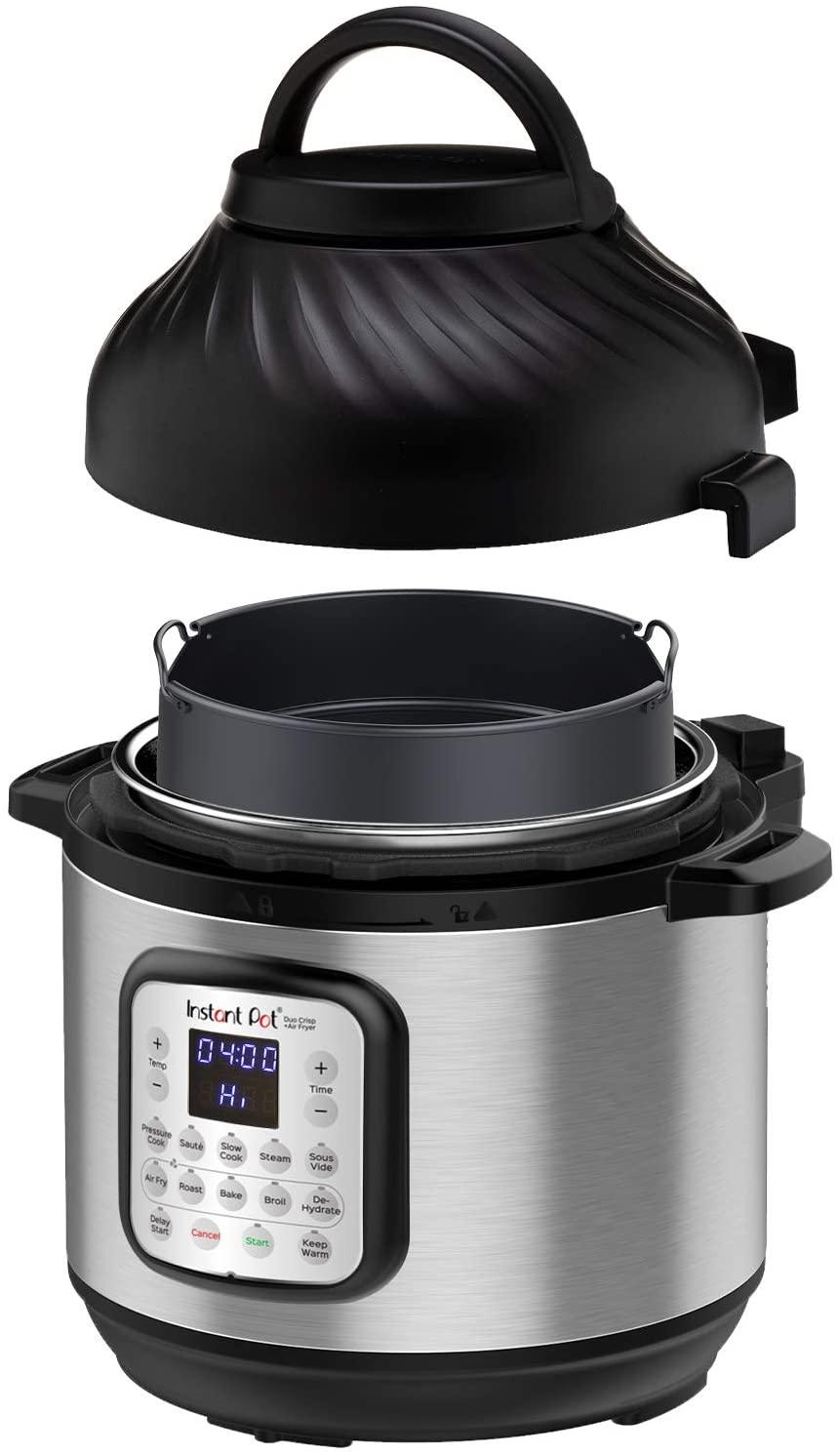Instant Pot 8-Quart Air Fryer + EPC Combo, unique gift for dad