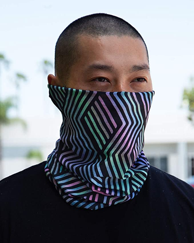 neck gaiter - into the am face covering
