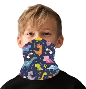 kids face mask bandana covering