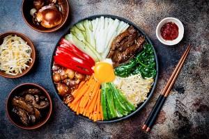 korean bibimbap food, healthy takeout options
