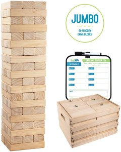 best lawn games giant jenga