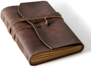 bedsure leather journal notebook, gifts for artsy moms
