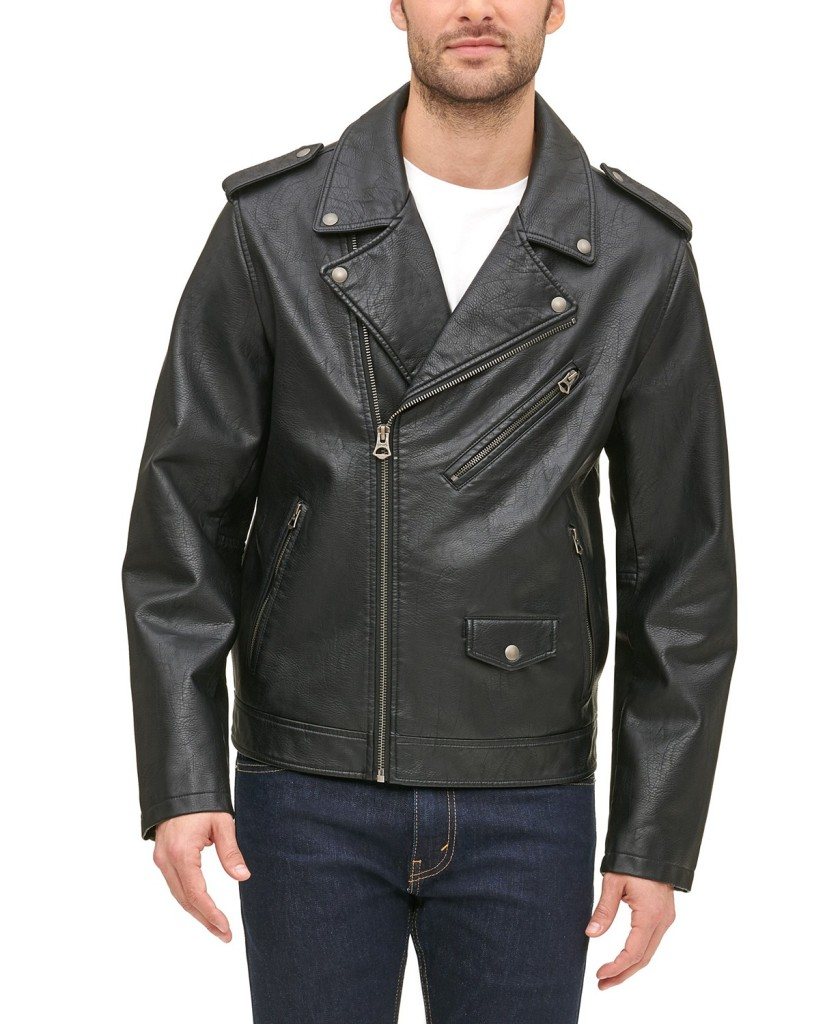 best vegan leather jackets - levis