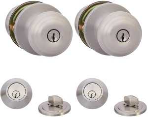 best door locks amazon basics