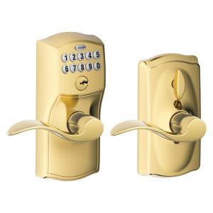 best door locks schlage camelot