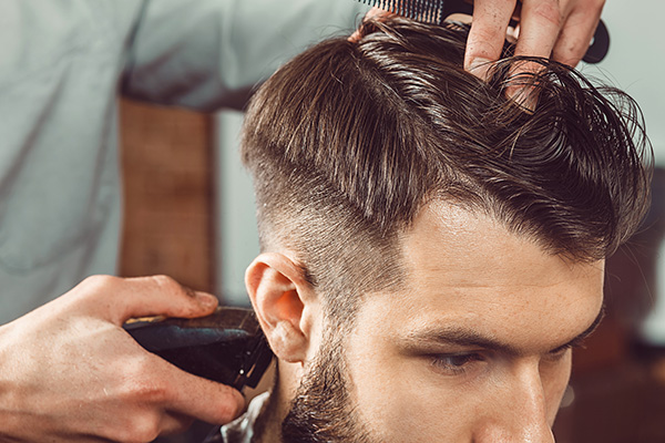 trendy men's haircuts - high fade