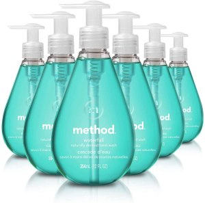 method hand soap waterfall, antibacterial hand soap