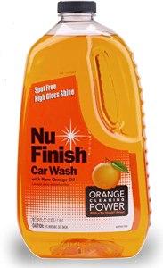 car wash soap nu finish