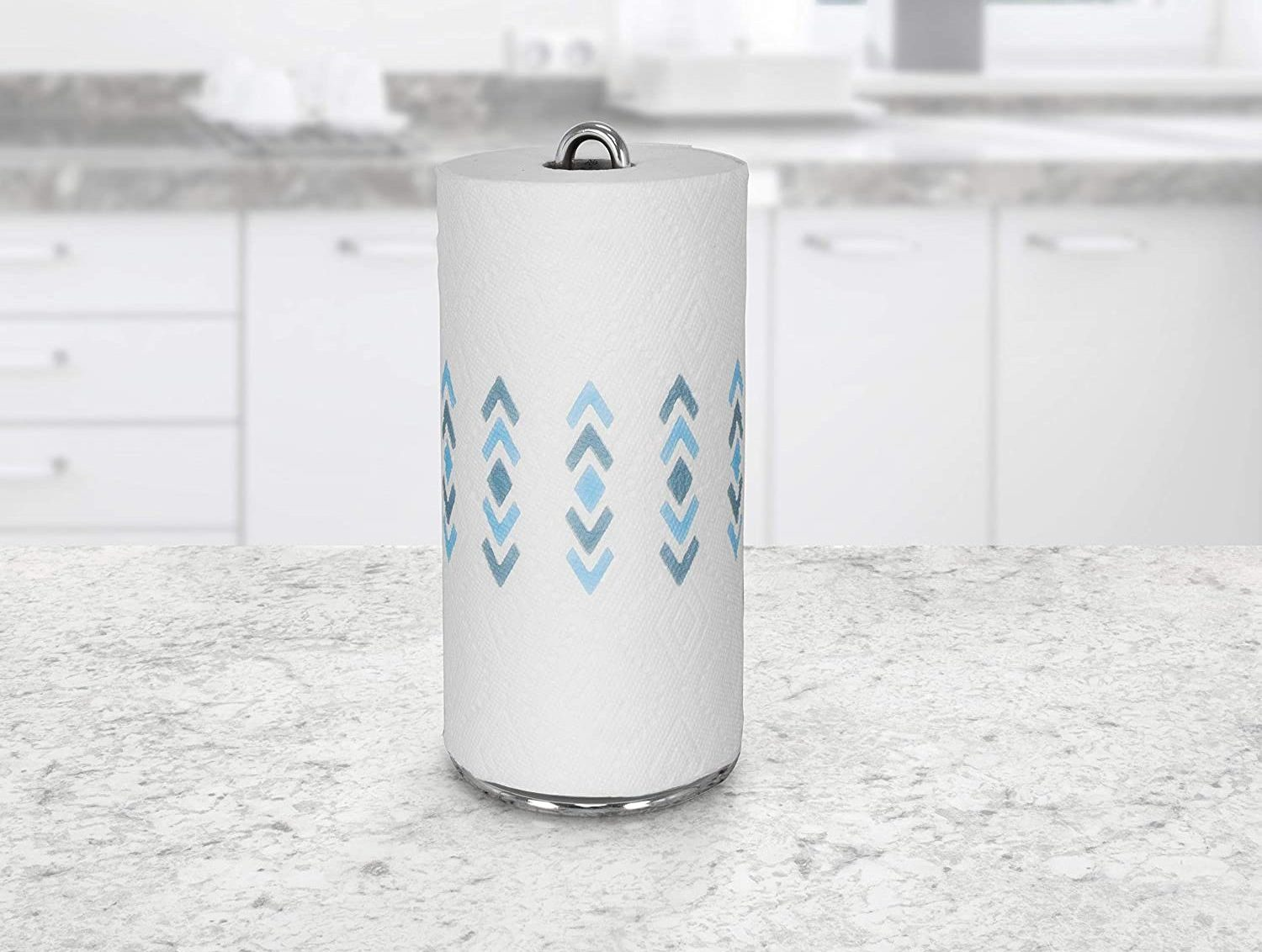 Chrome Euro Paper Towel Holder 1 Count