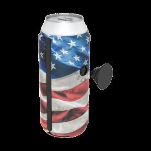PopThirst American Flag Can Holder
