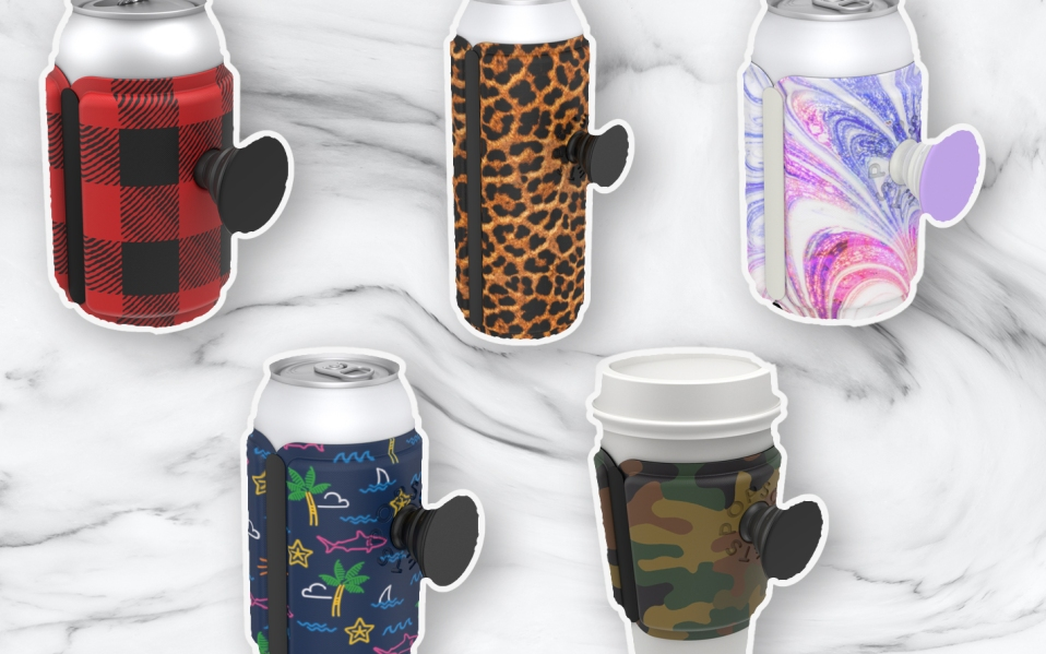 PopThirst PopSocket Can Sleeves