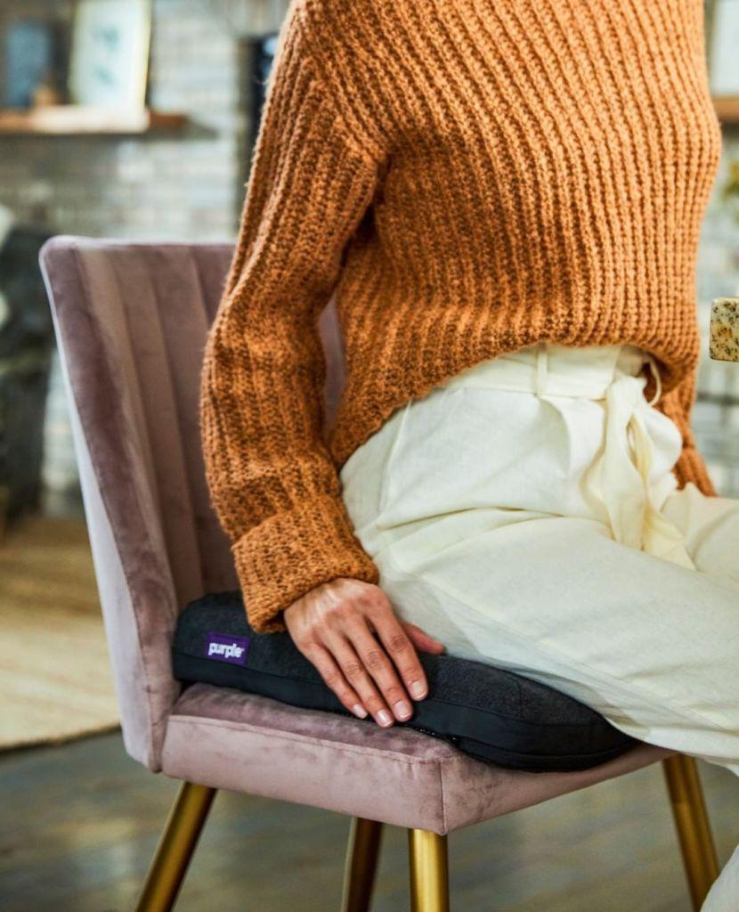 purple royal seat cushion review