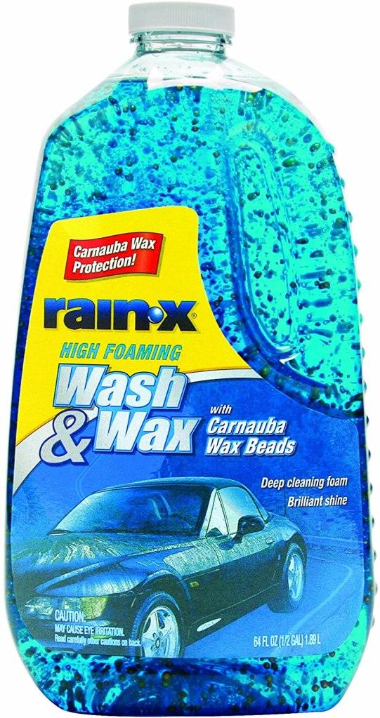 car wash soap rain x