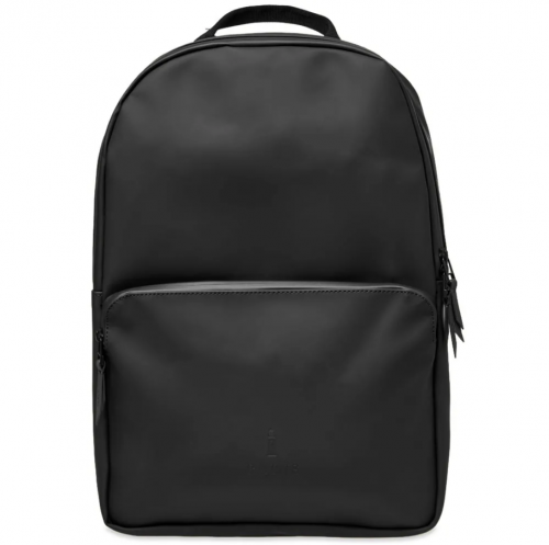 Rains Field Backpack (in black)