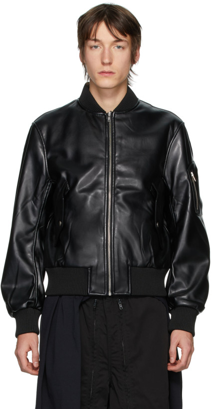 best vegan leather jackets - random identities