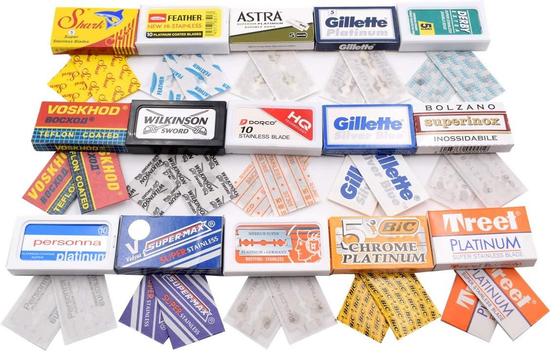 razor blade variety pack