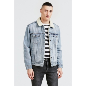 Levi's Type 3 Sherpa-Lined Denim Trucker Jacket